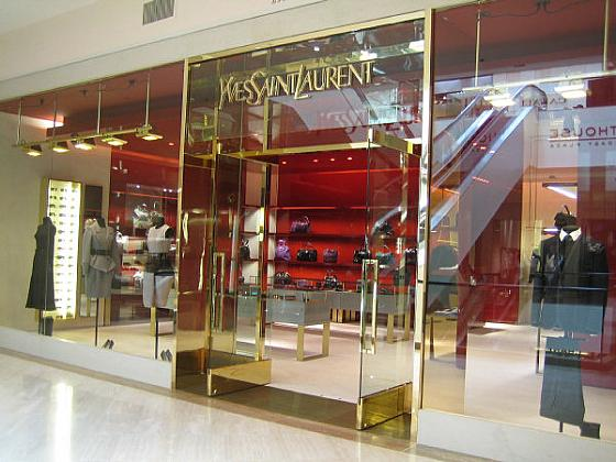 new ysl store in south coast plaza the band from