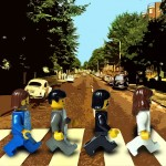 20 album covers recreated in LEGO