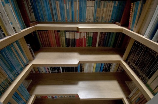 book staircase 1