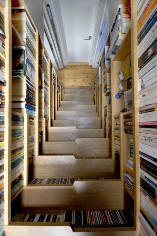 book staircase 3