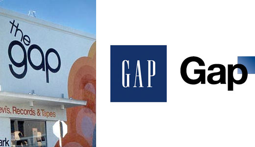 The Gap just premiered a new gap.com logo to terrible design blog reception.