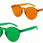House of Holland x Linda Farrow Plexiglas Sunglasses