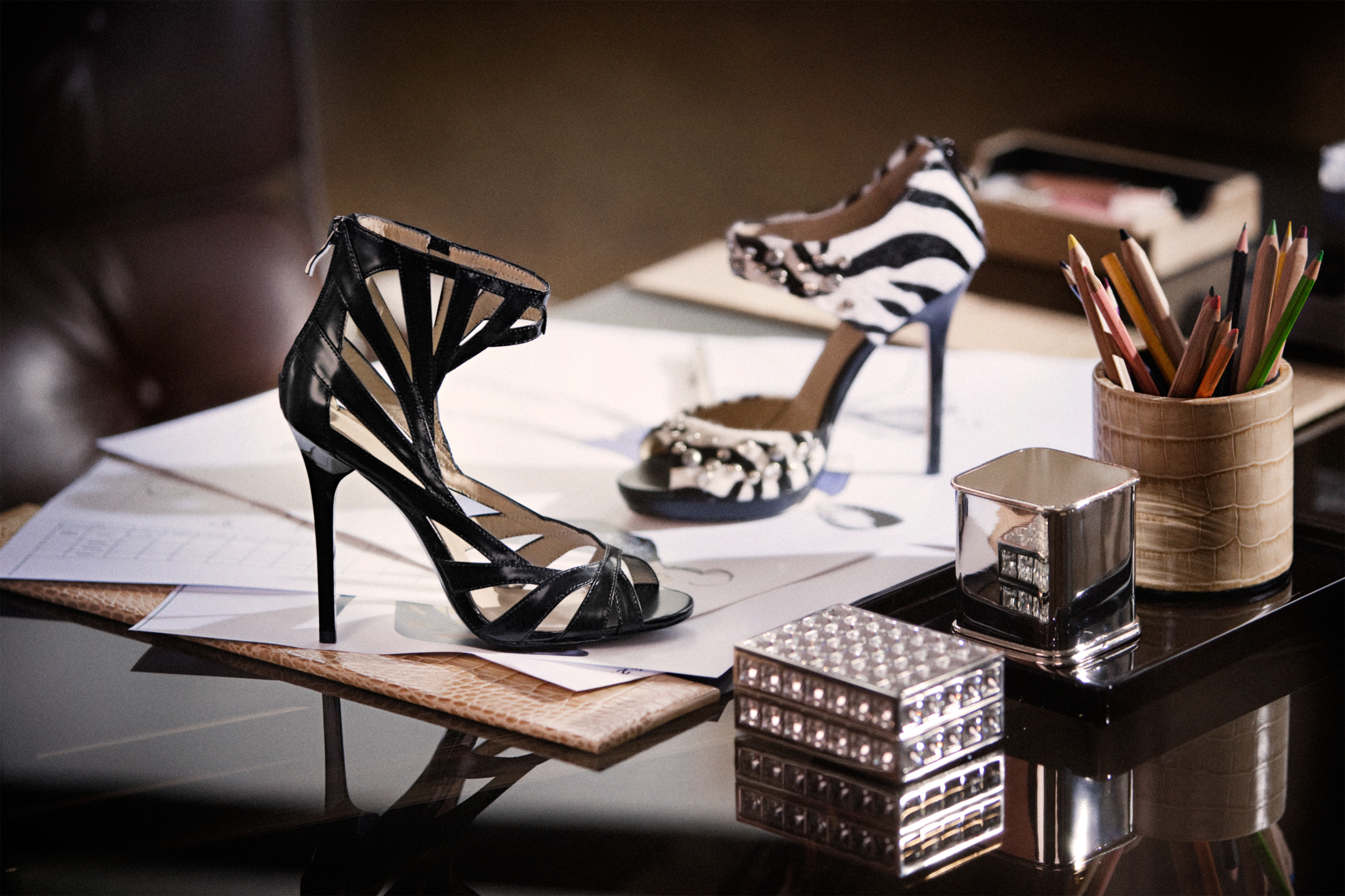 Jimmy Choo x H&M // The Band From