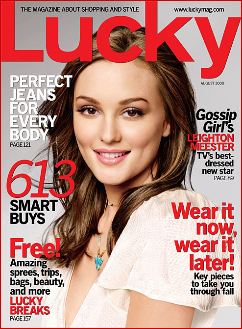 Lucky Magazine May 11: I Love Gossip Girl, So… // The Band From
