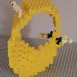Math Lego Sculptures